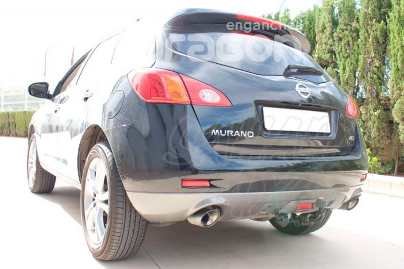 Enganche de Remolque Extraible Horizontal Nissan Murano Z51 2008- - Consultar homologacion.