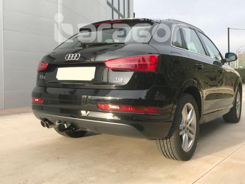 Enganche de Remolque fijo Audi Q3 - Consultar homologacion.