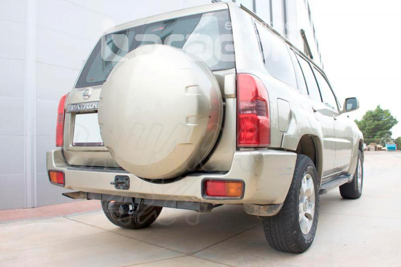 Enganche de Remolque Fijo Nissan Patrol Y61 10/2004- - Consultar homologacion.