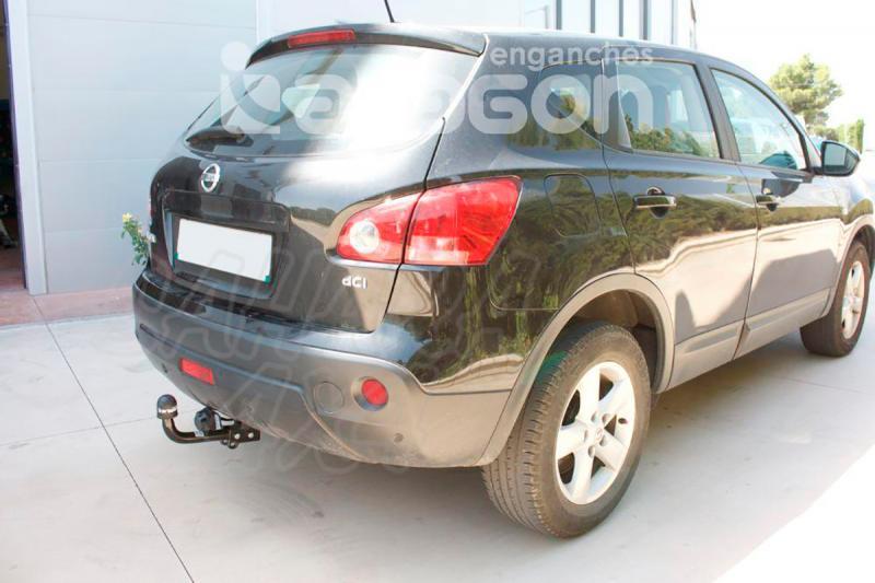 Enganche de Remolque Fijo Nissan Qashqai/Qashqai+2 11/2006-2014 - Consultar homologacion.