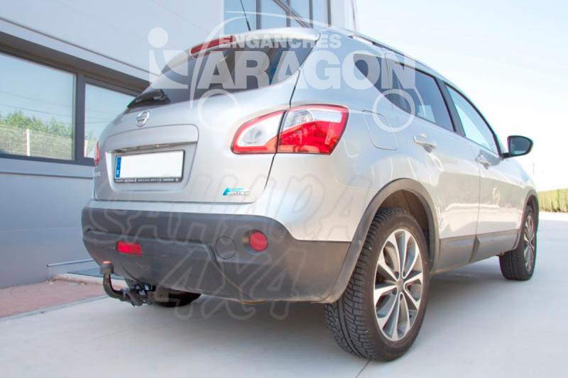 Enganche de Remolque Extraible Horizontal Nissan Qashqai/Qashqai+2 11/2006-2014 - Consultar homologacion.