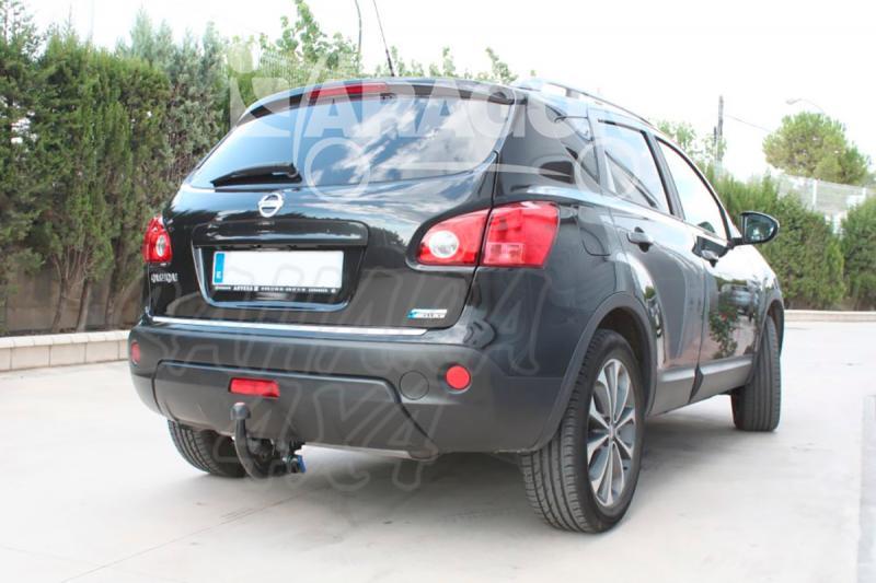 Enganche de Remolque Extraible Vertical Nissan Qashqai/Qashqai+2 11/2006-2014 - Consultar homologacion.