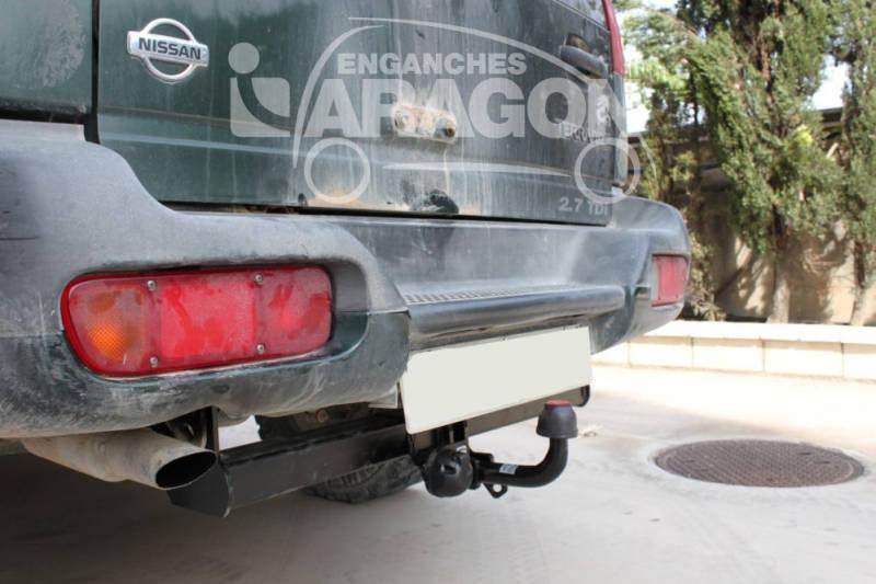 Enganche de Remolque Fijo Nissan Terrano II 3-5 Puertas 10/1993- - Consultar homologacion.