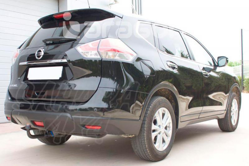 Enganche de Remolque Extraible Vertical Nissan X-Trail T32 2014- - Consultar homologacion.