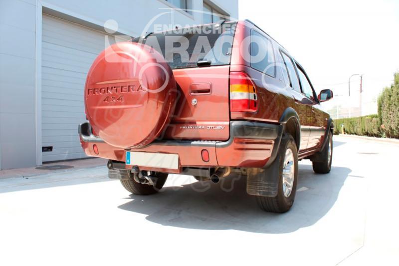 Enganche de Remolque Extraible Horizontal Opel Frontera B 5 Puertas 1991-11/1998 - Consultar homologacion.