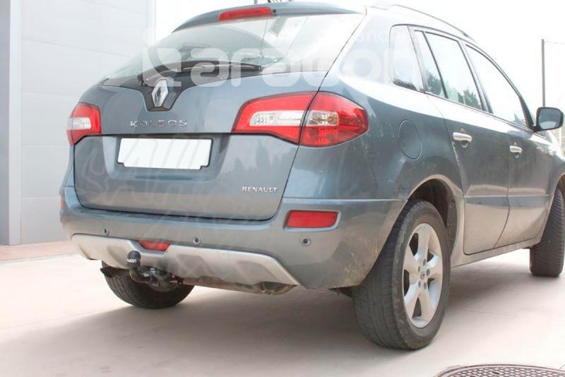 Enganche de Remolque Extraible Horizontal Renault Dacia Koleos 2008- - Consultar homologacion.