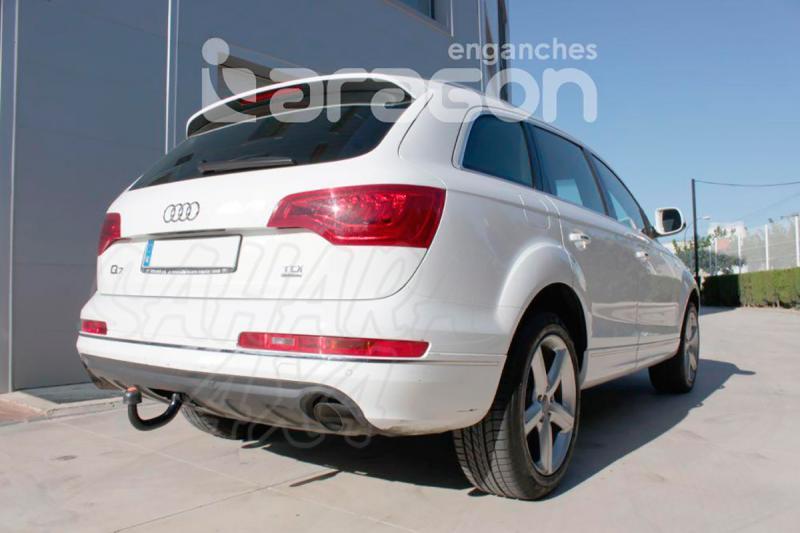 Enganche de Remolque Extraible Vertical Audi Q7 - Consultar homologacion.