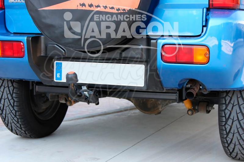 Enganche de Remolque Extraible Horizontal Suzuki Jimny 2018-