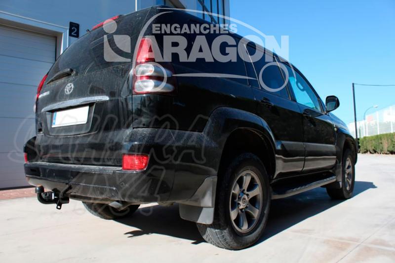 Enganche de Remolque Fijo Toyota Land Cruiser J120/J125 1/2003-10/2008 - Consultar homologacion.
