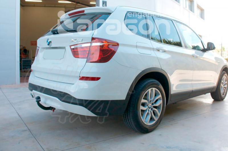 Enganche de Remolque Extraible Vertical BMW X3 F25 10/2010-2/2014 - Consultar homologacion.