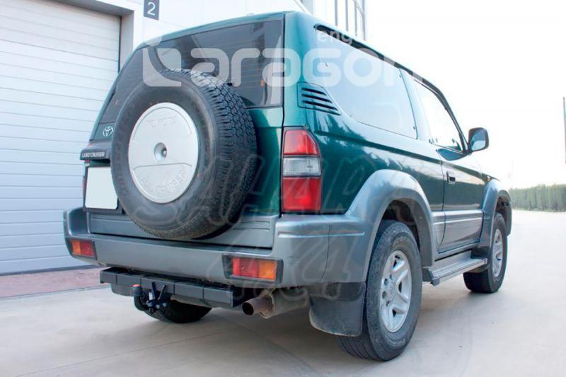 Enganche de Remolque Fijo Toyota Land Cruiser J90 3 Puertas 1996-2003 - Consultar homologacion.