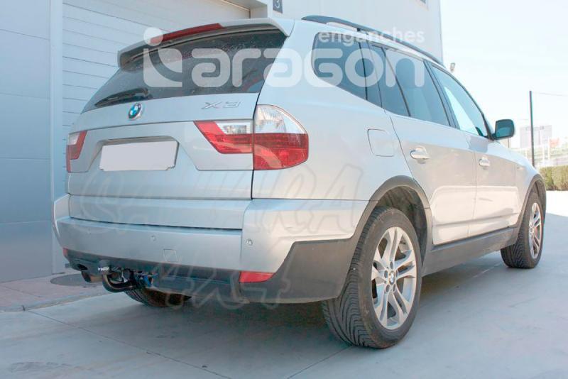 Enganche de Remolque Exrtraible Vertical BMW X3 E83 2004-2010 - Consultar homologacion.