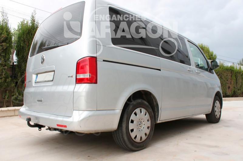 Enganche de Remolque Fijo Volkswagen Transporter T5 2003-10/2009 - Consultar homologacion.