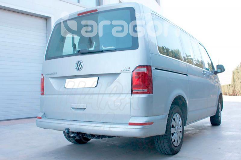 Enganche de Remolque Extraible Horizontal Volkswagen Transporter T6 8/2015- - Consultar homologacion.