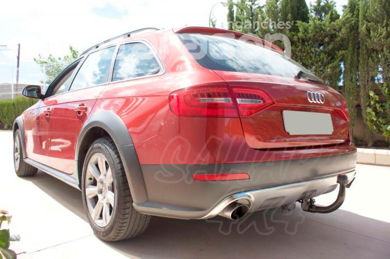 Enganche de Remolque Extraible Vertical Audi A4 Allroad B8 2009-11/2015 - Consultar homologacion.
