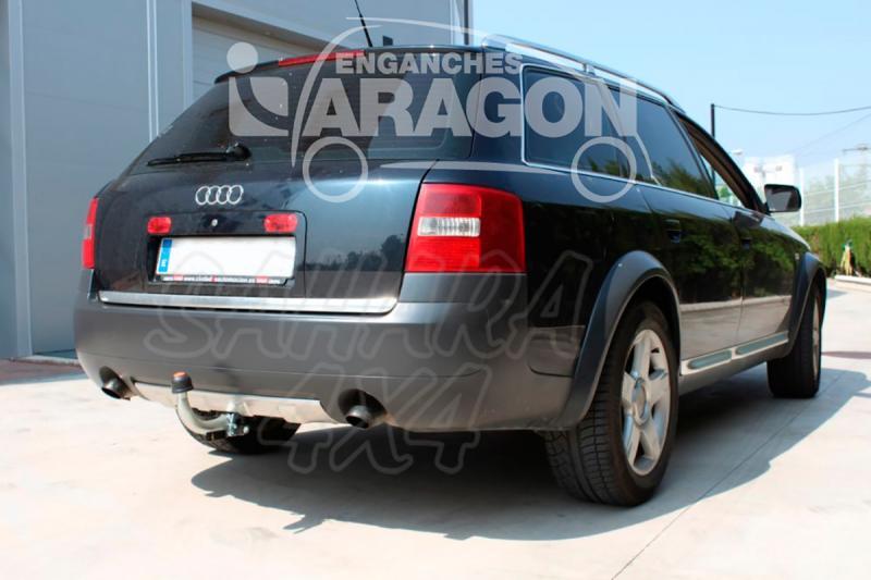 Enganche de Remolque Extraible Horizontal Audi A6 Allroad C5 2000-2006 - Consultar homologacion.