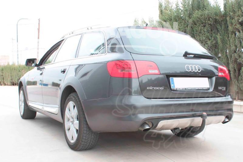 Enganche de Remolque Extraible Vertical Audi A6 Allroad C6 2006-2012 - Consultar homologacion.