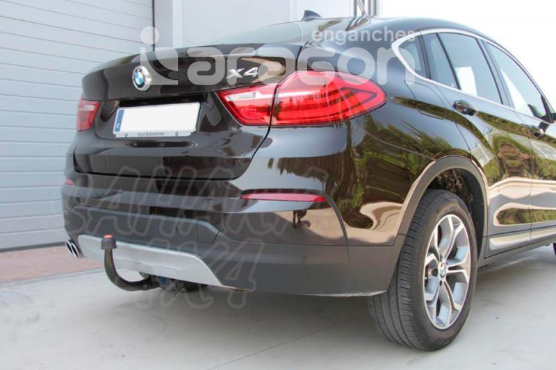 Enganche de Remolque Extraible Vertical BMW X4 F26 2014- - Consultar homologacion.