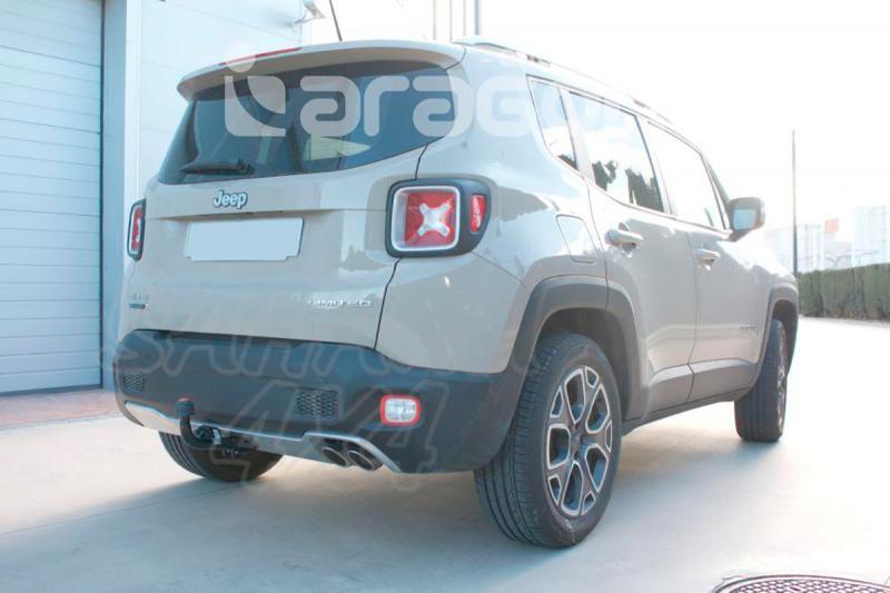 Enganche de Remolque Fijo Jeep Renegade 2014- - Consultar homologacion.