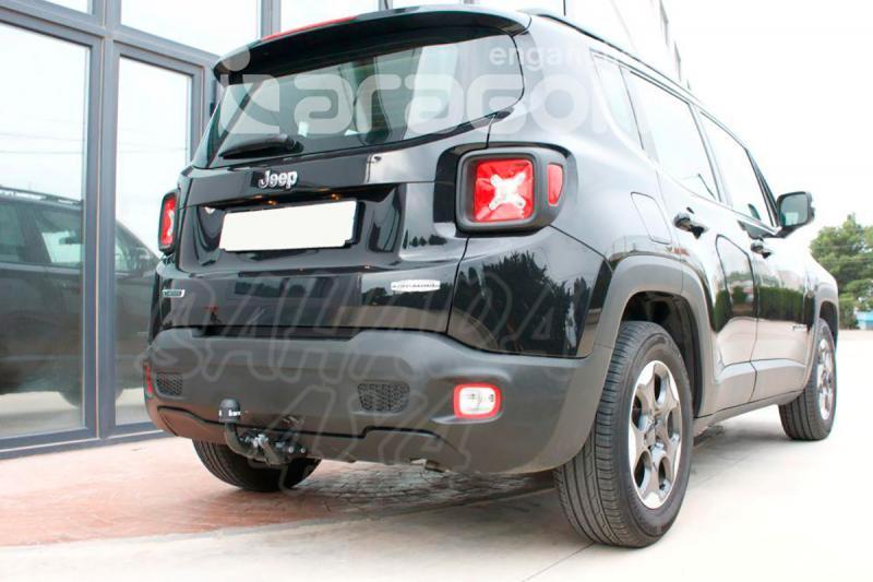 Enganche de Remolque Extraible Horizontal Jeep Renegade 2014- - Consultar homologacion.