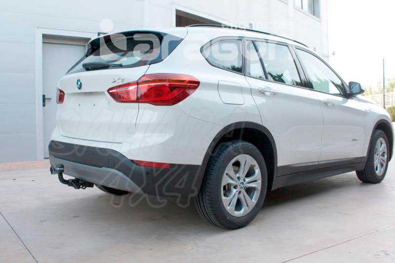 Enganche de Remolque Extraible Horizontal BMW X1 F48 10/2015- - Consultar homologacion.