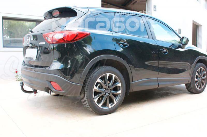 Enganche de Remolque Extraible Vertical Mazda CX5 2012- - Consultar homologacion.