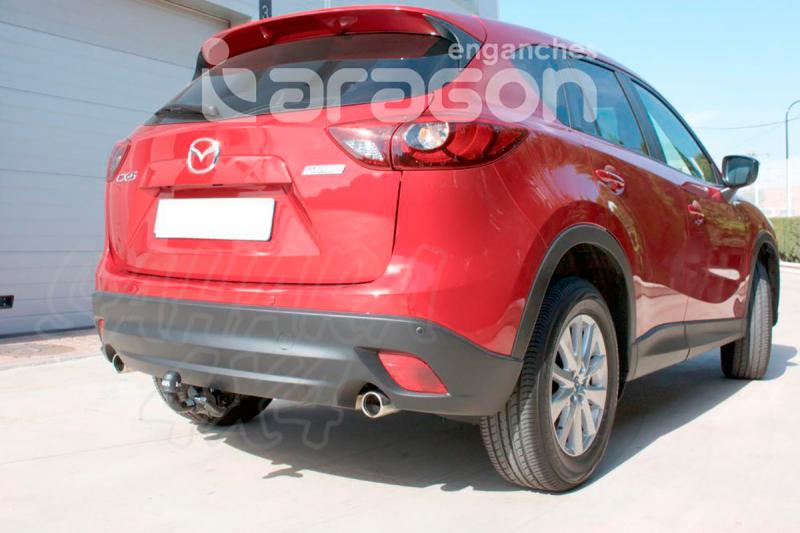 Enganche de Remolque Extraible Horizontal Mazda CX5 2012- - Consultar homologacion.