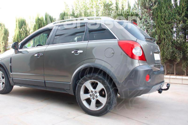 Enganche de Remolque Fijo Opel Antara sin preinstalación eléctrica 2006- - Consultar homologacion.