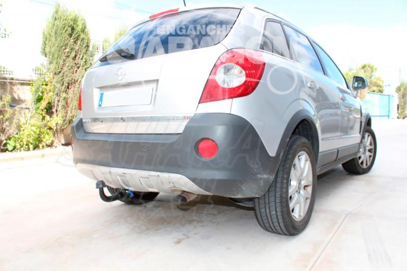 Enganche de Remolque Extraible Vertical Opel Antara sin preinstalación eléctrica 2006- - Consultar homologacion.