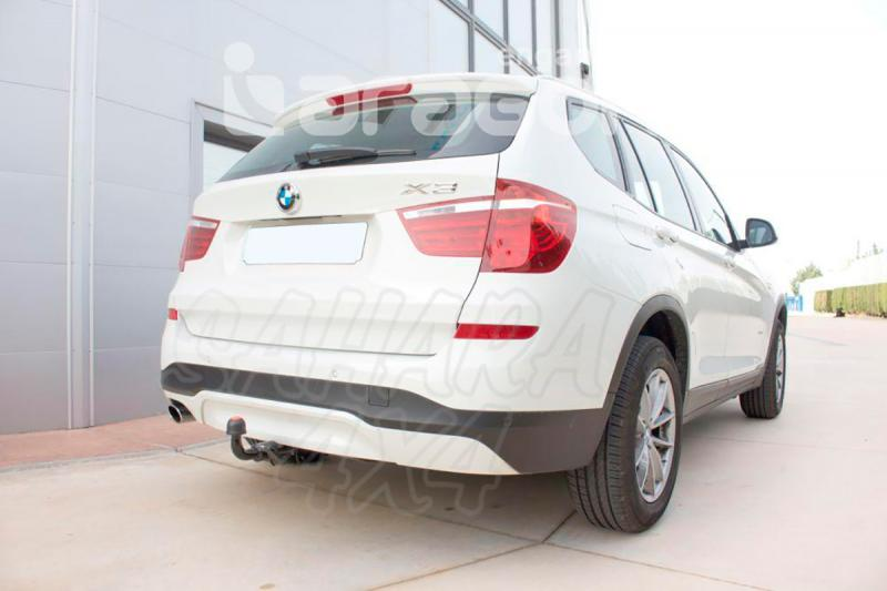 Enganche de Remolque Extraible Horizontal BMW X3 F25 10/2010-2/2014 - Consultar homologacion.