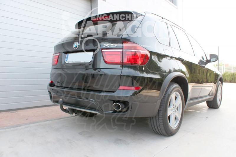 Enganche de Remolque Extraible Horizontal BMW X5 E70 3/2007-2013
