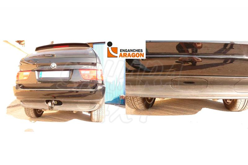 Enganche de Remolque Extraible Vertical BMW X5 E53 2000-2007 - Consultar homologacion.