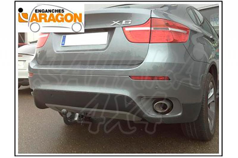 Enganche de Remolque Fijo BMW X6 E71 2008-2014 - Consultar homologacion.