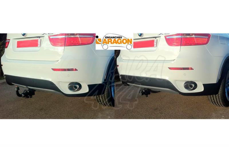 Enganche de Remolque Extraible Horizontal BMW X6 E71 2008-2015 - Consultar homologacion.