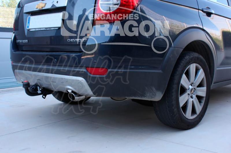 Enganche de Remolque Fijo Chevrolet Captiva sin preinstalación eléctrica 2006-2012 - Consultar homologacion.