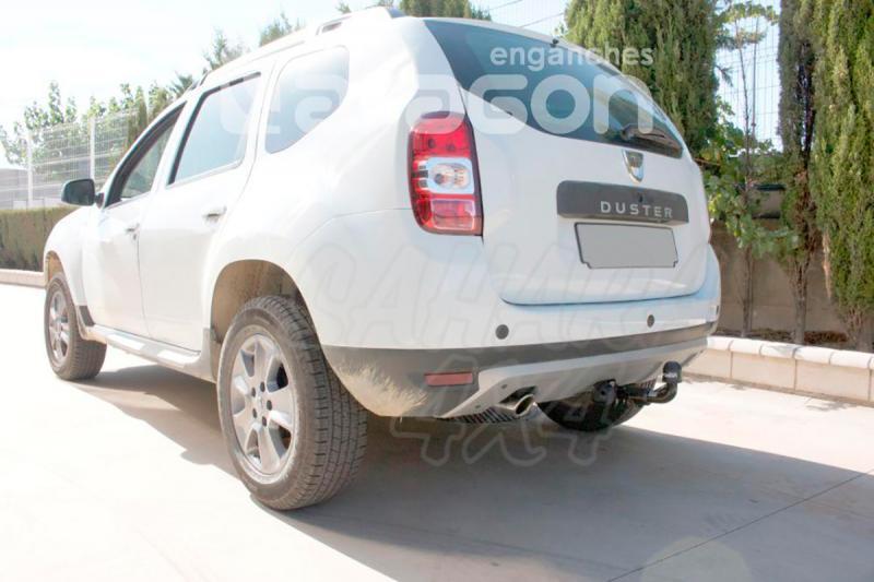 Enganche de Remolque Extraible Horizontal Dacia Duster 2010-10/2013 - Consultar homologacion.