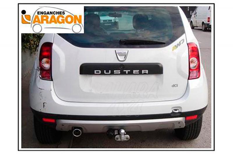 Enganche de Remolque Tipo Placa Dacia Duster 2010-10/2013 - Consultar homologacion.