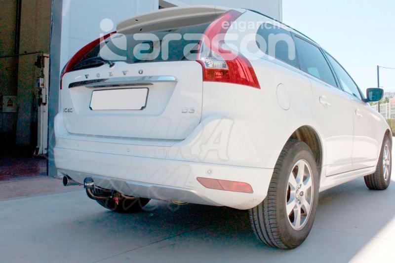 Enganche de Remolque extraible vertical Volvo XC60 - Consultar homologacion.