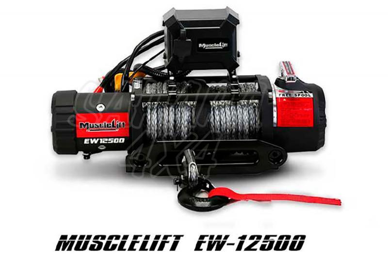 Cabestrante Muscle-Lift MW12500 12V de 5665kg