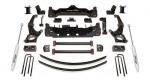 Kit de elevacion Pro Comp + 15 cm - Toyota Hilux 2005-2014 - Fabricado por Procomp