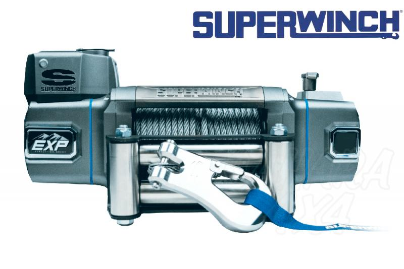Superwinch EXP8 8.000lbs  3.600 Kg  - Cabrestante electrico a 12v