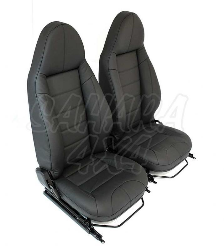 Asientos delanteros PREMIUM MODULAR para Land Rover Defender (2 Unidades)  - Precio por 2 unidades de asientos delanteros. Pulse para más información.