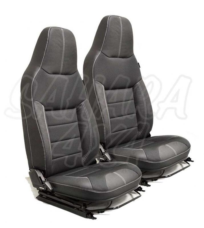 Asientos delanteros PREMIUM PUMA para Land Rover Defender (2 Unidades)  - Precio por 2 unidades de asientos delanteros. Pulse para más información.