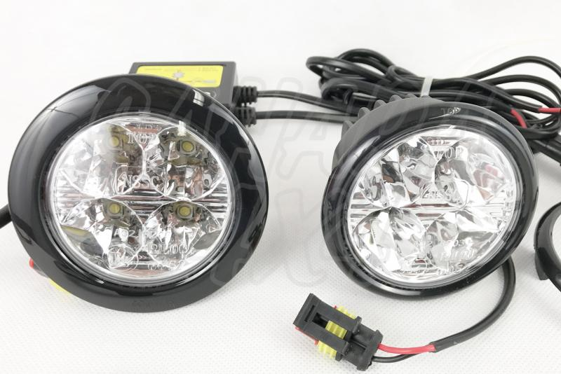 Faros DRL luz diurna 65 mm  - Precio por pareja