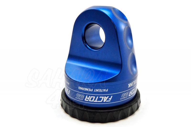 Gancho Factor 55 para cable de acero o sintetico ProLink Azul