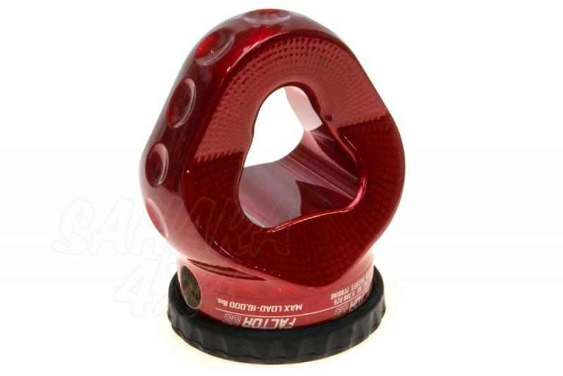 Gancho Factor 55 Pro Link Expert 16.000lbs Rojo