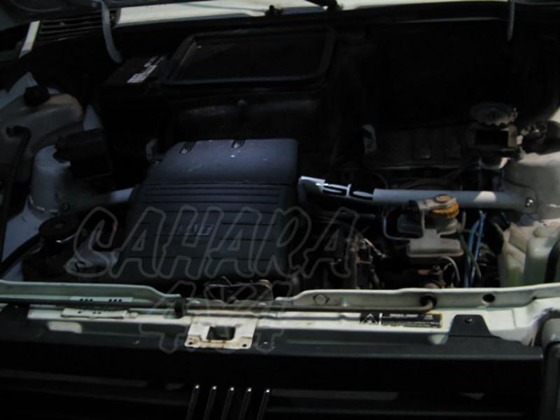 Barra de Torretas Delanteras Fiat Panda 4x4 - Refuerzo de Barras de Torretas, compatible con rueda respuesto en capot.