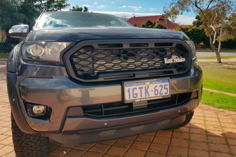 Calandra delantera Tipo Raptor para Ford Ranger series 3 Raptor