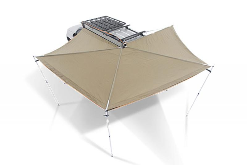 Toldo lateral Rhino Rack Foxwing by OZ Tent , de 2.5 mts lado derecho - Toldo lateral  Rhino Rack , 2.5 mts