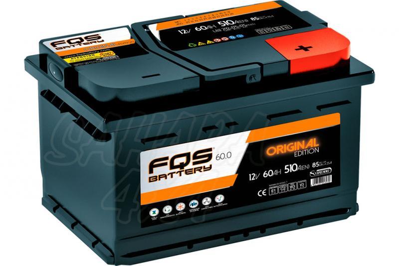 Batería FQS Original Edition FQS60 12v 60Ah